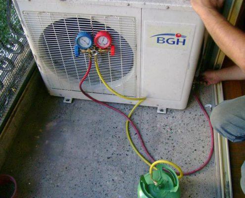 carga recarga gas aire acondicionado oferta